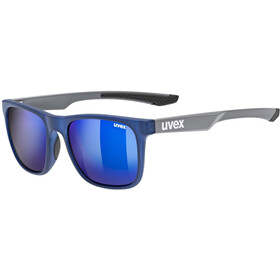 UVEX LGL 42 Glasses blue grey/mirror blue